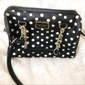 Betsey Johnson NY Polka Dot Chain Bag